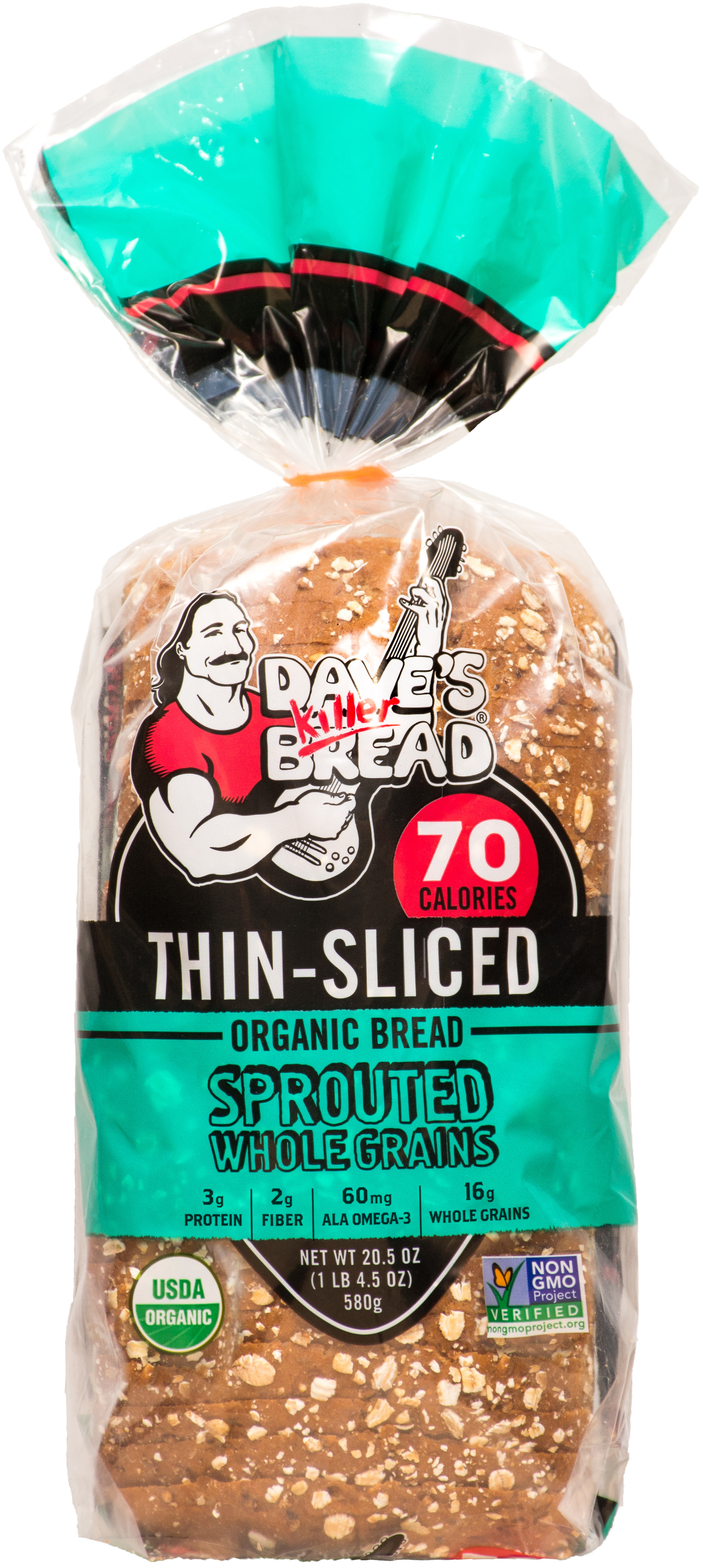 Sprouted Whole Grains Thin Sliced Dave S Killer Bread