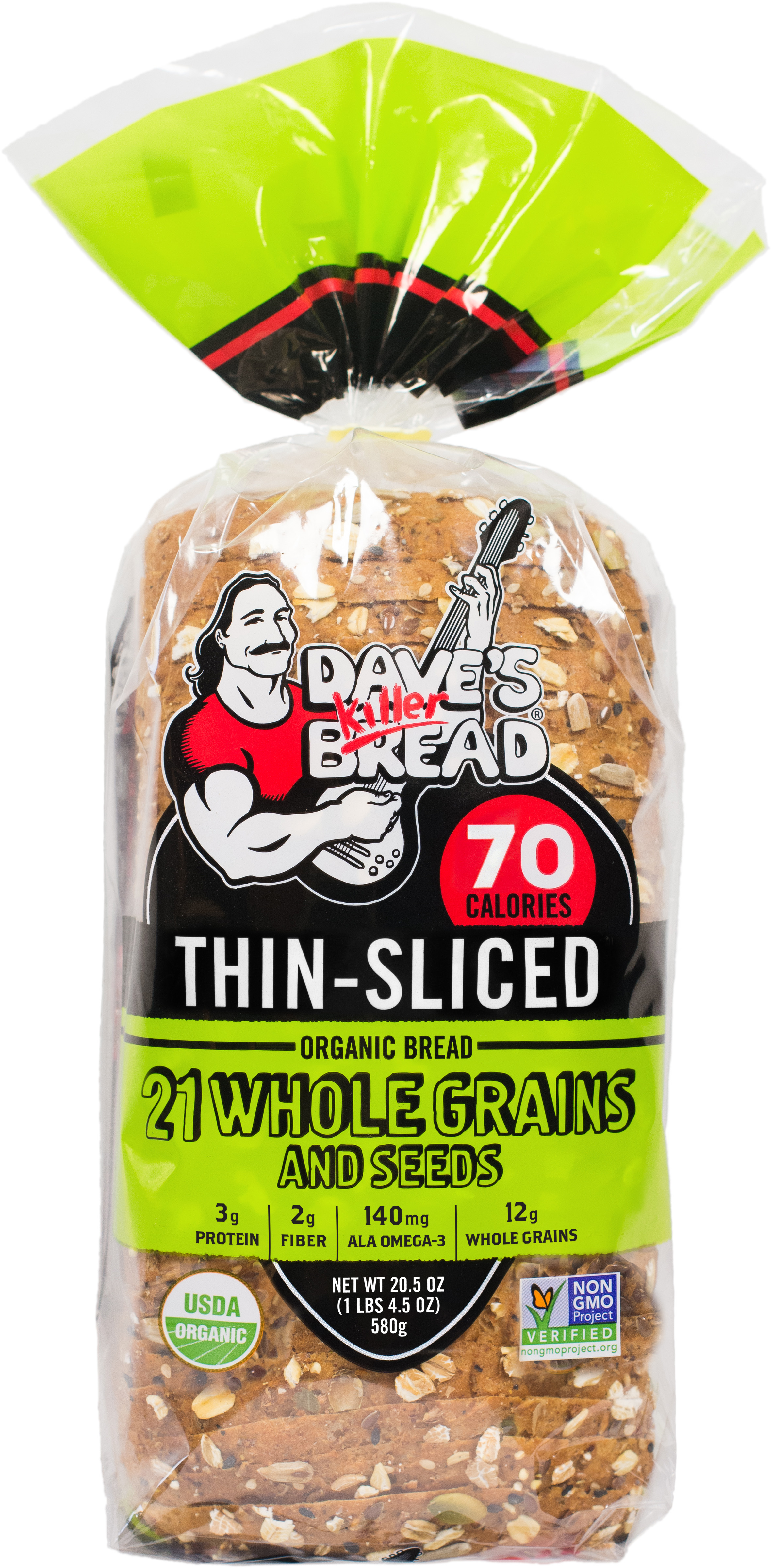 21 Whole Grains and Seeds Thin-Sliced