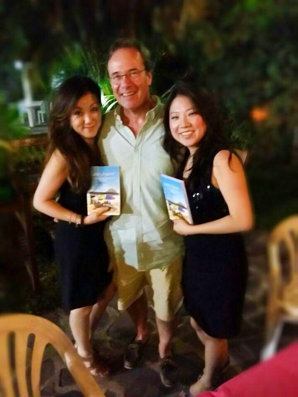 From left, Kaori, Tom and Nana