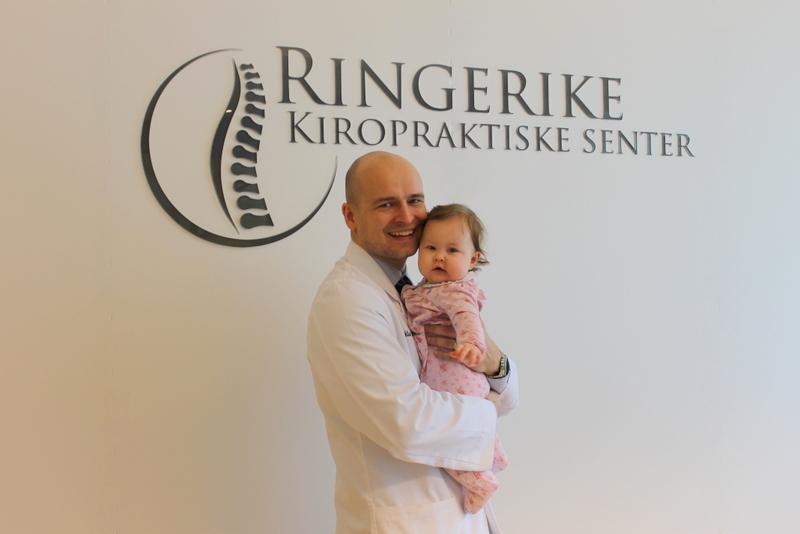 Kiropraktor Fredrik er spesielt interessert i trening og livsstil.