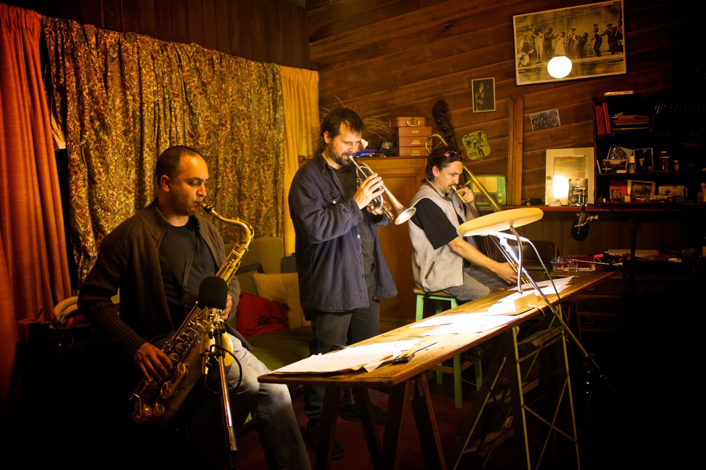 Howards Cairns Quintet somewhere in Melbourne.jpg