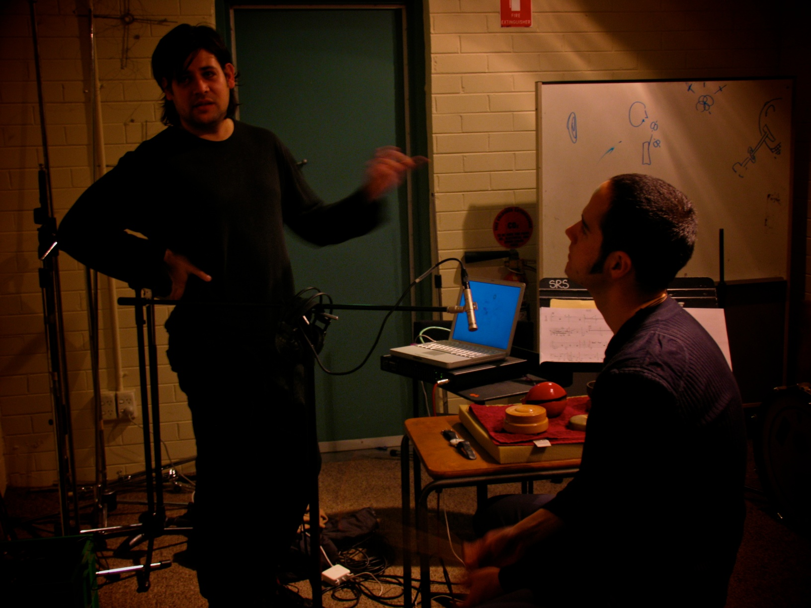 James Hullick and Eugene Ughetti at Sound Research Studios at VCA.jpg