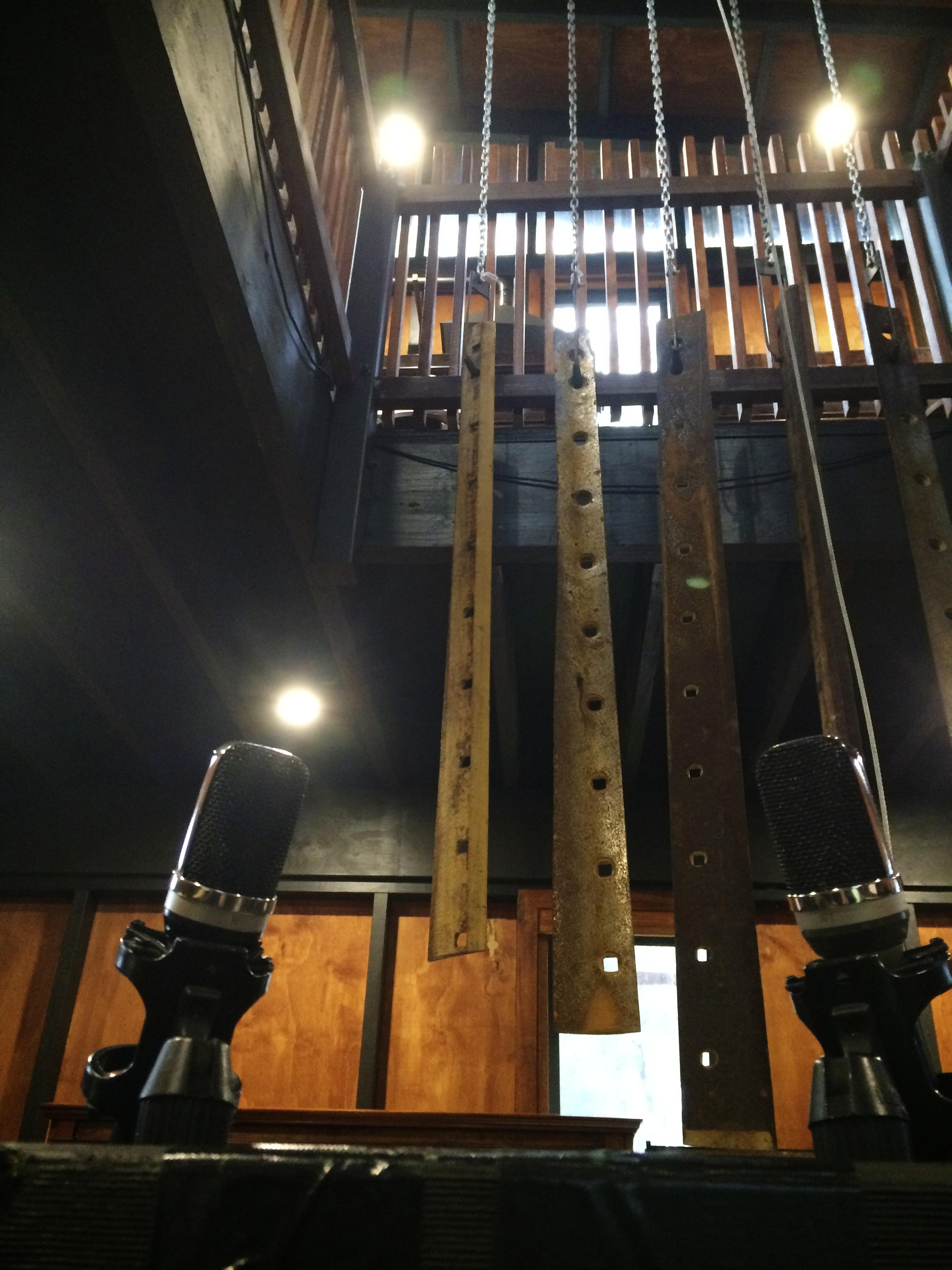 Gefell UM70-691 pair capturing the internal sound and the tuned grader blades.jpg