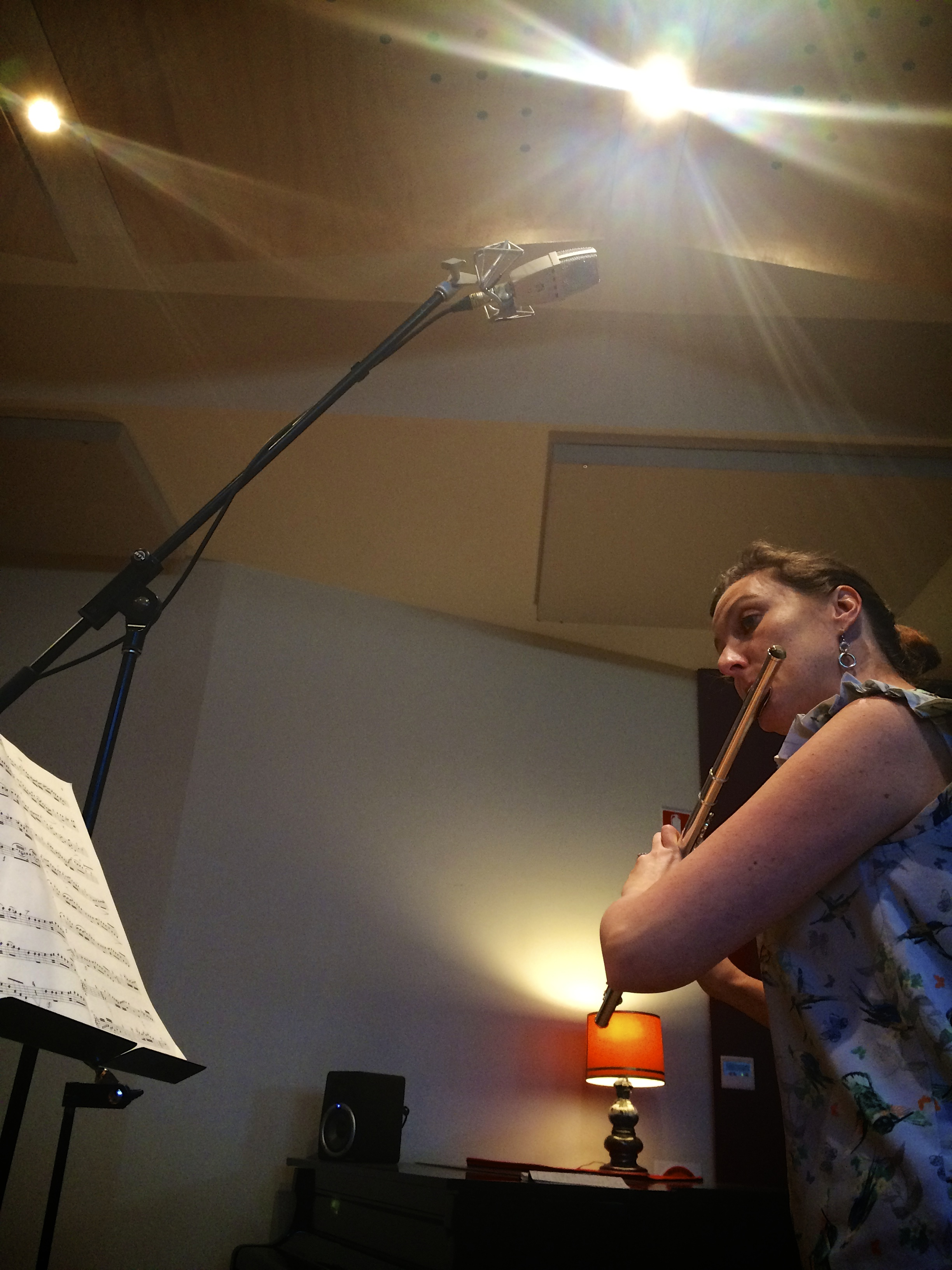 Melissa, the flute, and the T2.jpg