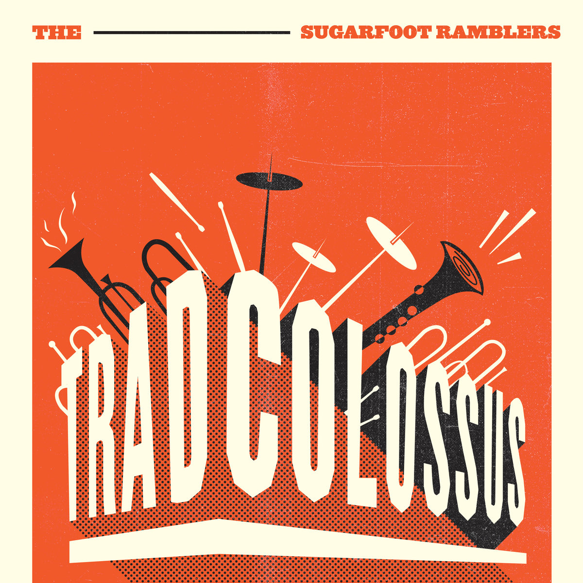 Second release from the Sugarfoot Ramblers, Trad Colosuss. Recorded, Mixed and Mastered by Myles Mumford at Rolling Stock Recording Rooms