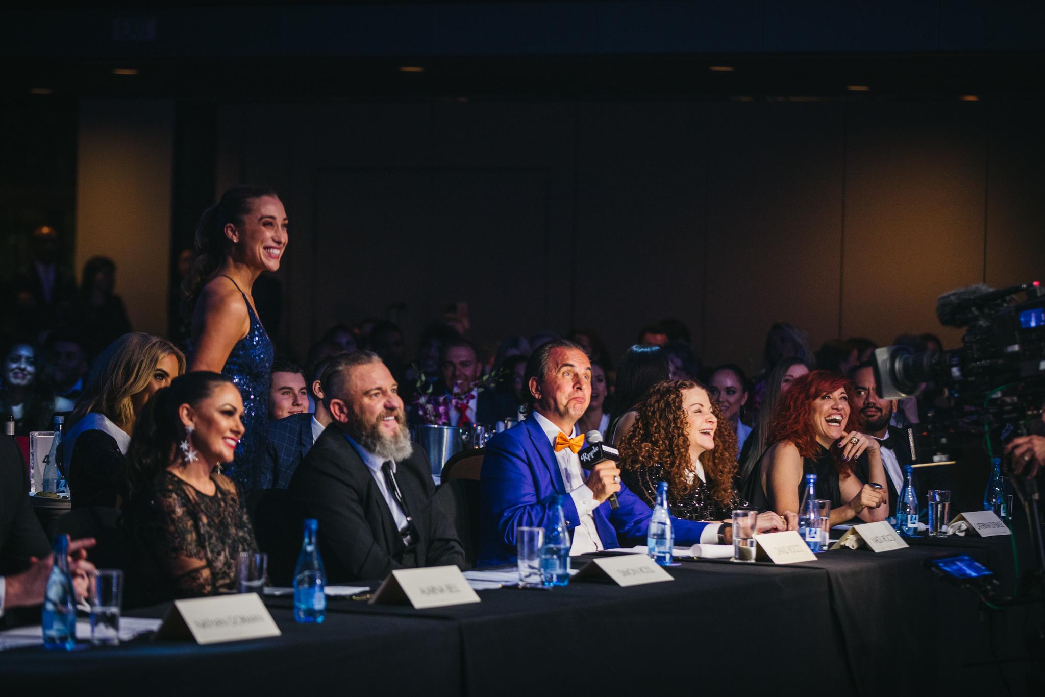 Judging Miss Universe Australia