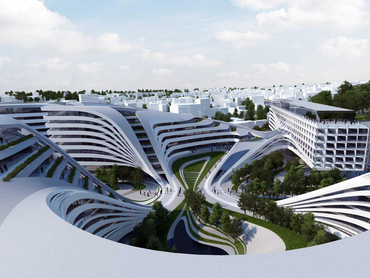 Zaha Hadid – Beko Building Belgrade