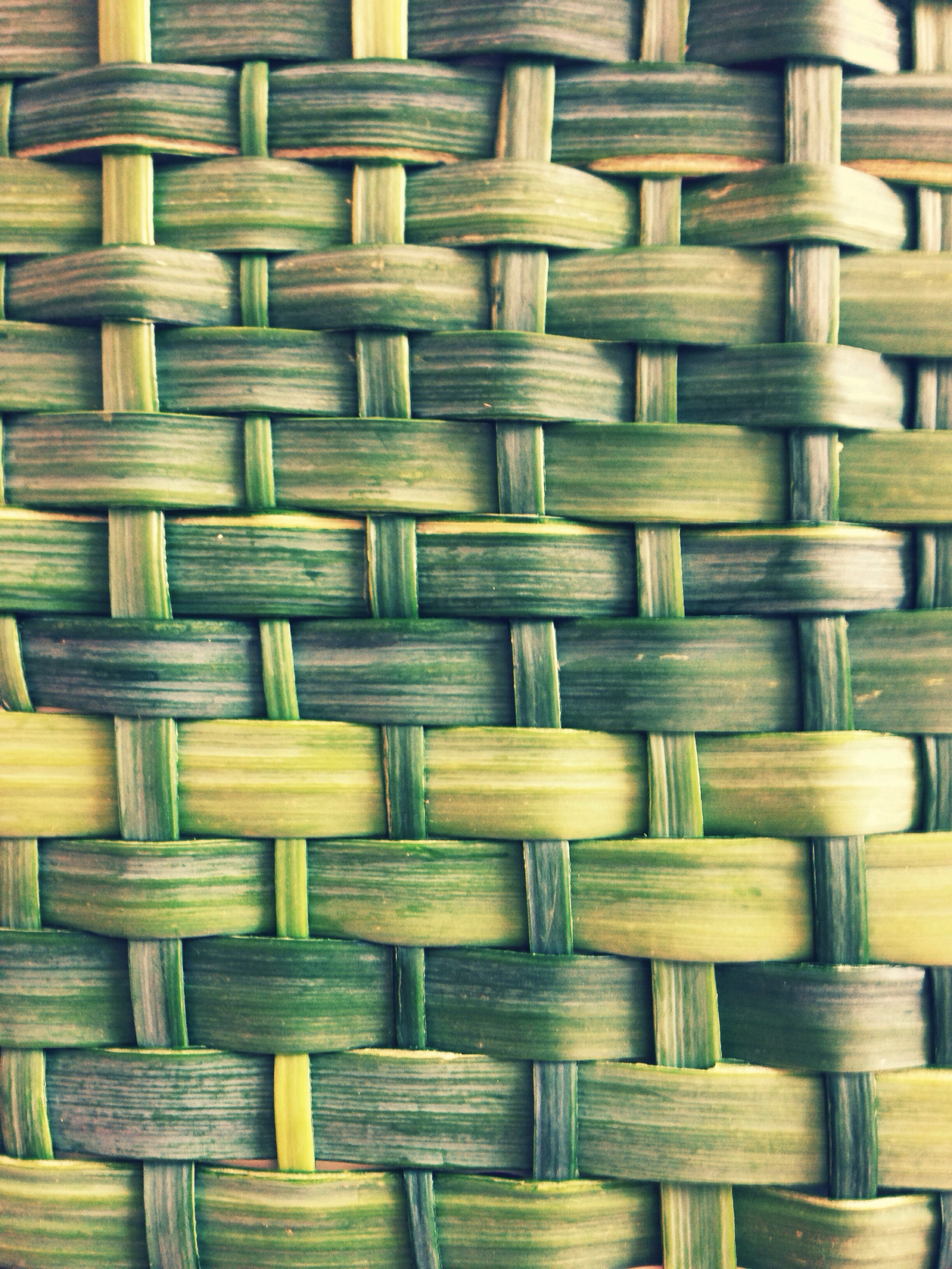 I cut leek leaves into thin strips to weave.