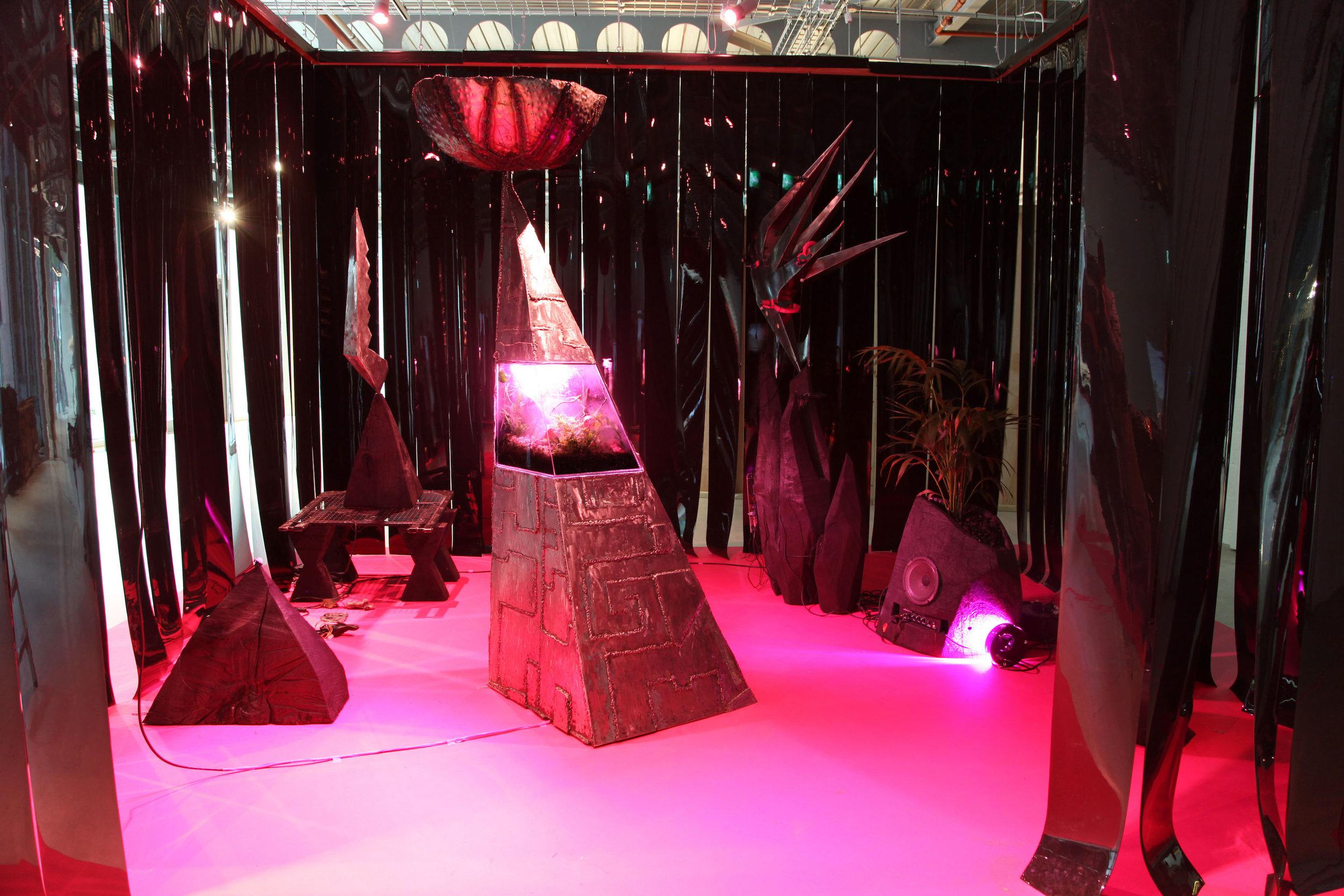 Sisyphus In Retrograde - Sol Bailey-Barker, Evy Jokhova, Adeline De Monseignat, Nissa Nishikawa & Harrison Pearce. Curated by Gabriella Sonabend & Aindrea Emelife09/04/2019 - 04/05/2019Aindrea Contemporary x London Curatorial, 17-19 Triton Street, NW1 3BF