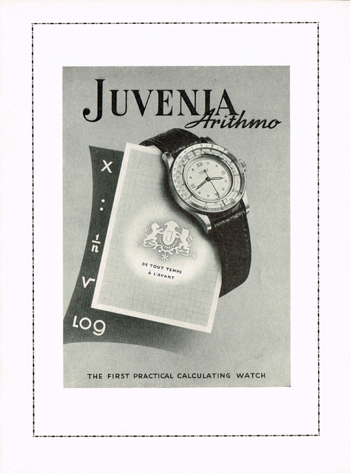 Juvenia  Arithmo  period advertisement