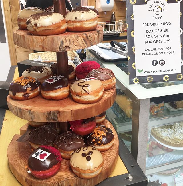 Our Fathers Day Donuts are flying out today! 🍩  More freshly made donuts by @therollingdonut_  tomorrow 😊 Come early to avoid disappointment or pre order now  #ratoath #ashbourne #ratoathgardencentre #dessert #fathersday
