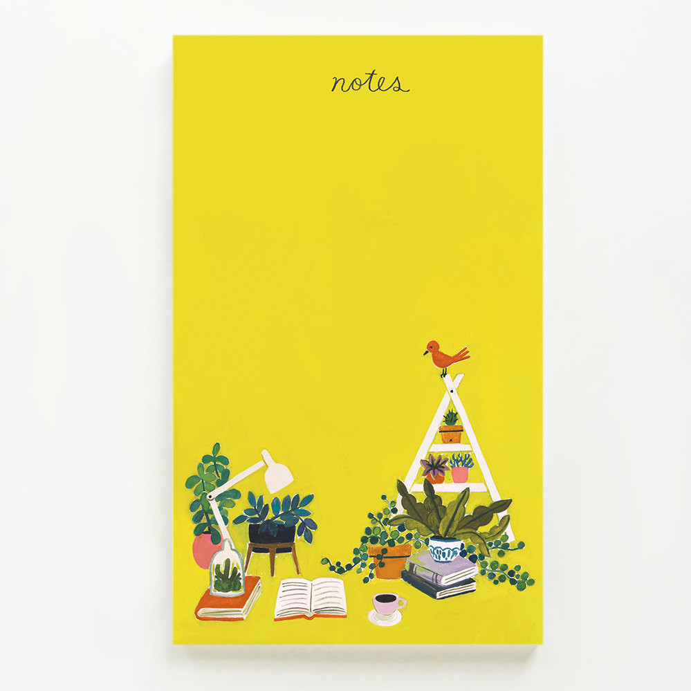 Sun Yellow Notepad