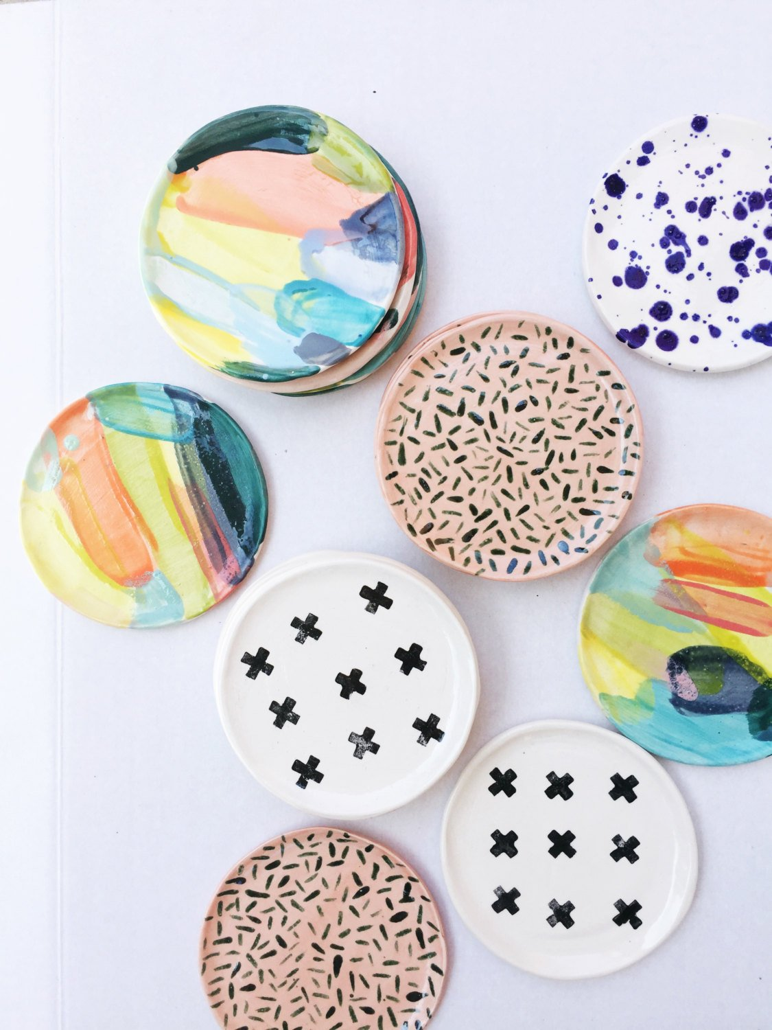Colorful Ring Dishes