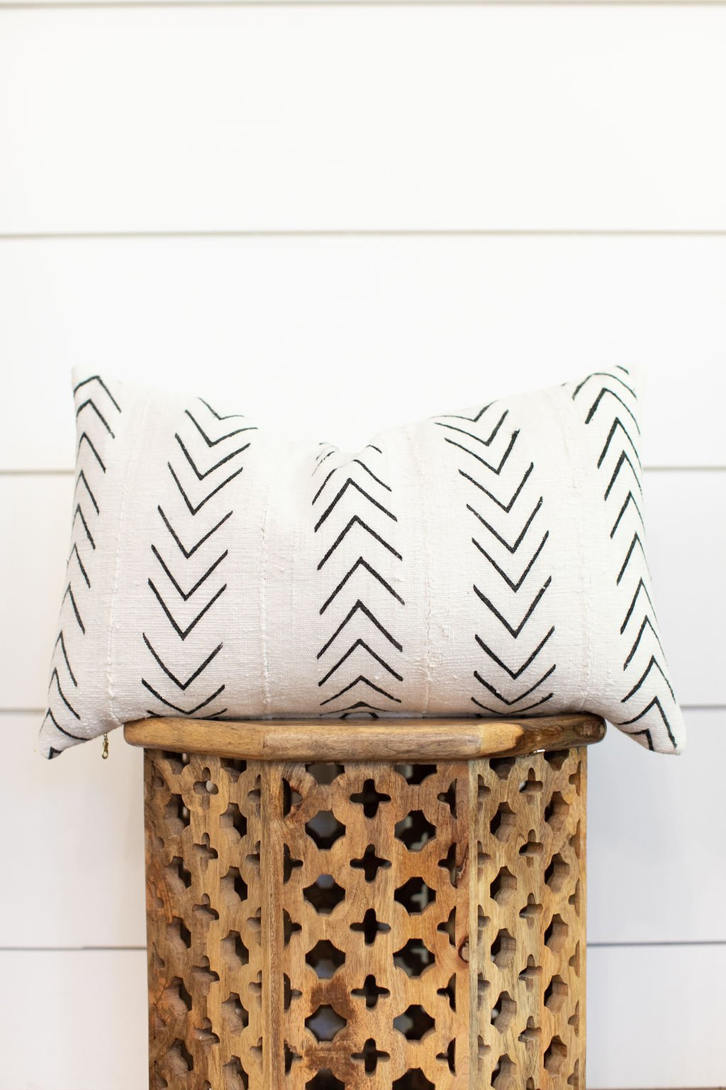"""Mudcloth Pillow Cover """"Jay"""""""