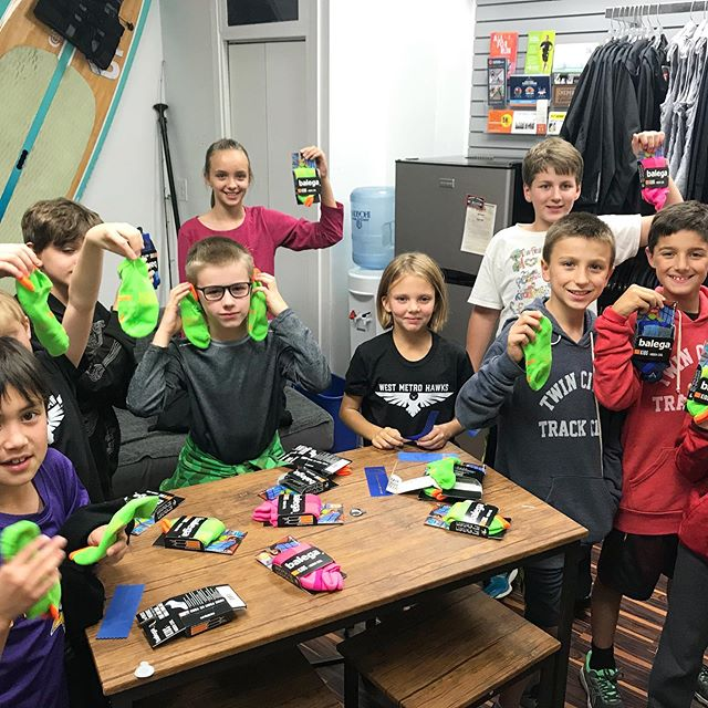 ✨Sponsor Spotlight   Balega Socks✨ . Thank you to @balega_international for spoiling our Kids City XC youth runners with a pair of Kids Hidden Cool running socks! 🧦 These kids will definitely learn the importance of having comfortable moisture wicking socks early in their young running careers. . If you haven't tried a pair of Balega socks yet, swing by one of our local store sponsors today! Your feet will thank you! . . #Balega #LoveMyBalegas #KidsHiddenCool #KidsRunMN #KidsCityXC