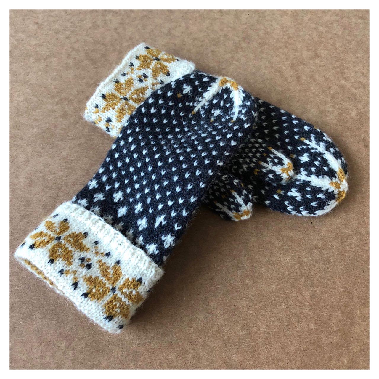 Mīlēt mittens in time for winter