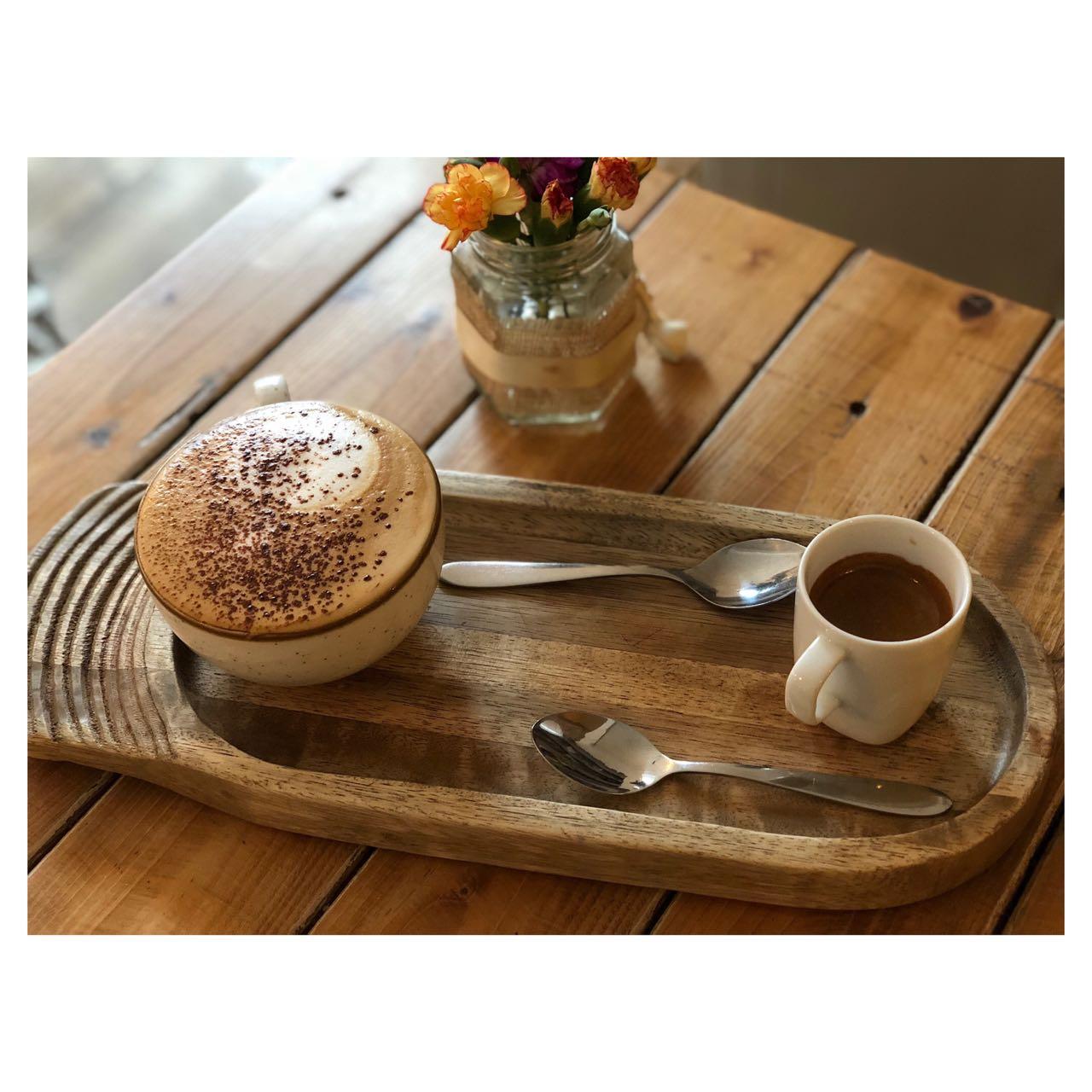- coffee break