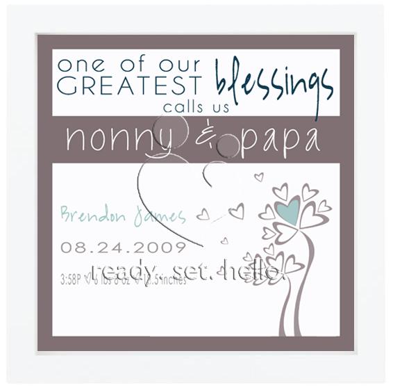Celebrating Nonny & Papa