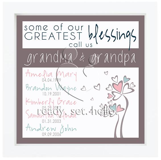 Celebrating Grandma & Grandpa
