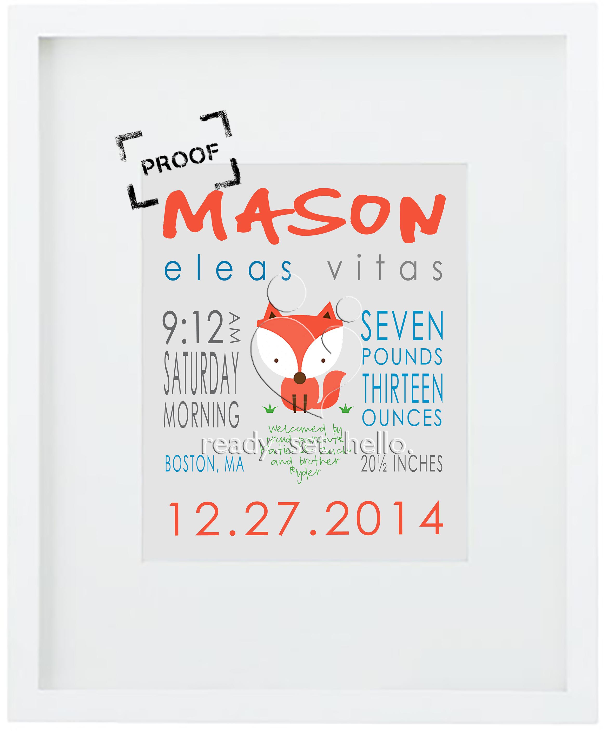 hello. Mason PROOF 1