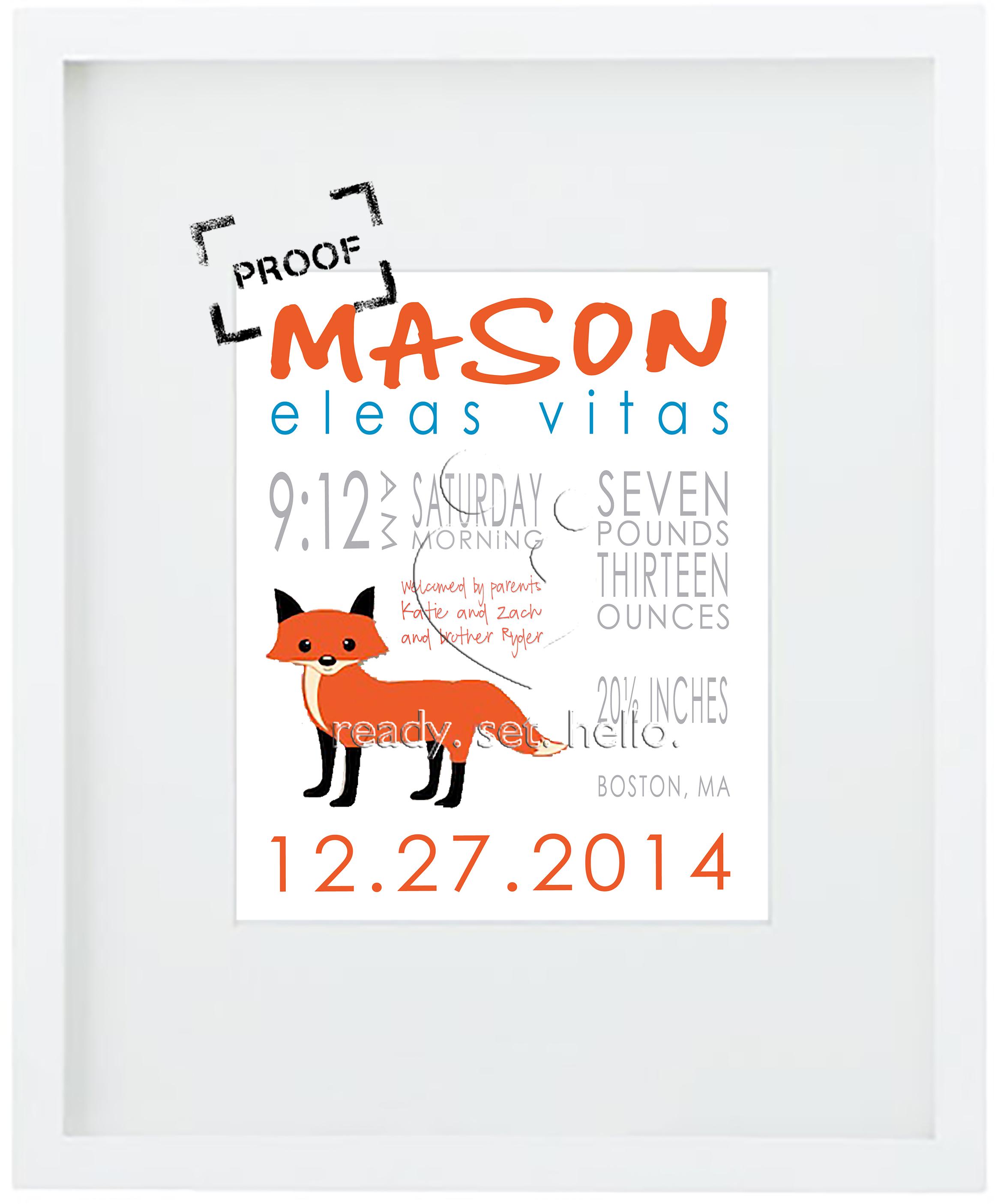 hello. Mason PROOF 3