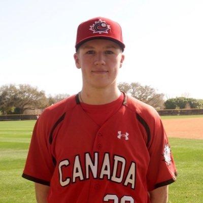 Sam Turcotte - Team Canada Jr Baseball