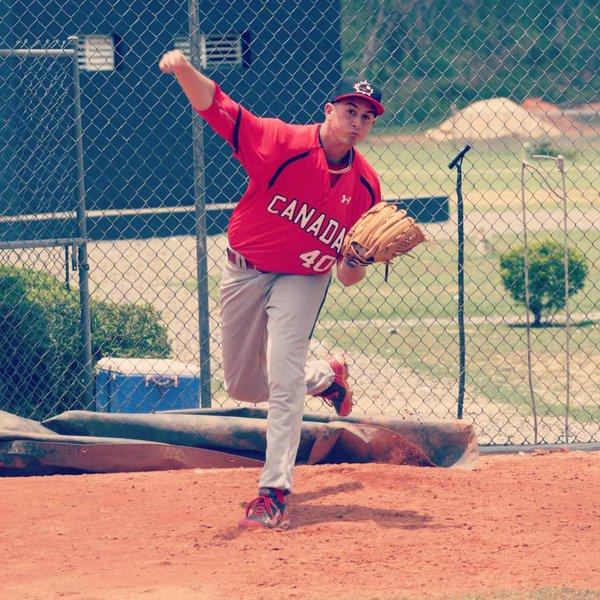 Nick Virdo - Team Canada Jr Baseball