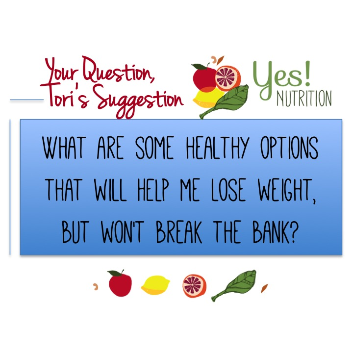 YES! Nutrition answers your questions