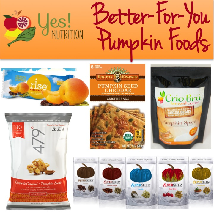 Healthier Pumpkin Foods from YES! Nutrition LLC
