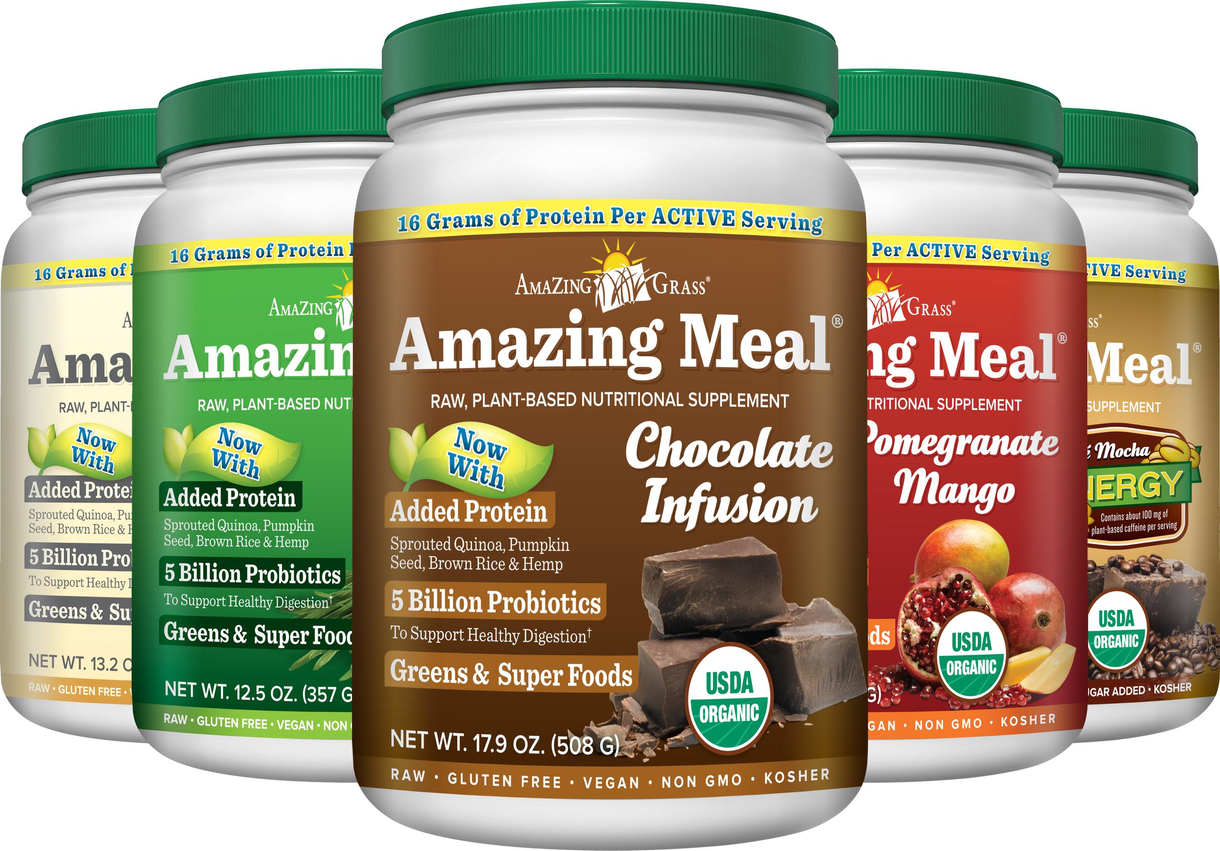 One Protein Powder I'm Loving Lately --> Amazing Grass   YES! Nutrition, LLC