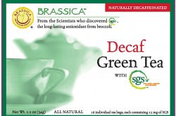 Brassica Decaf Green Tea with SGS - Healthier Cold and Flu Remedies | YES! Nutrition, LLC
