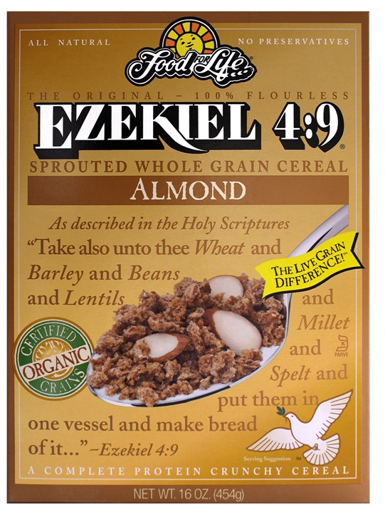 Ezekiel 4:9 Almond Sprouted Whole Grain Cereal | YES! Nutrition, LLC