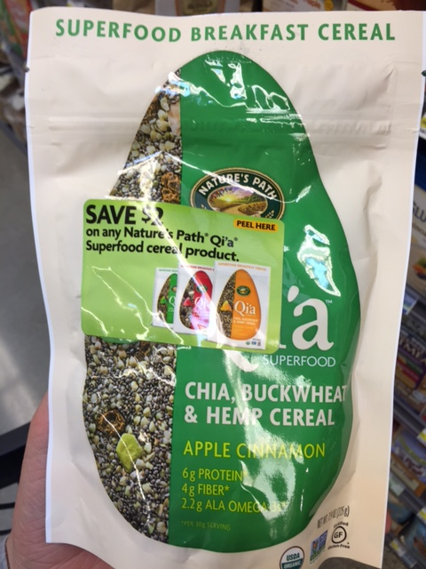 Qi'a Apple Cinnamon | YES! Nutrition, LLC