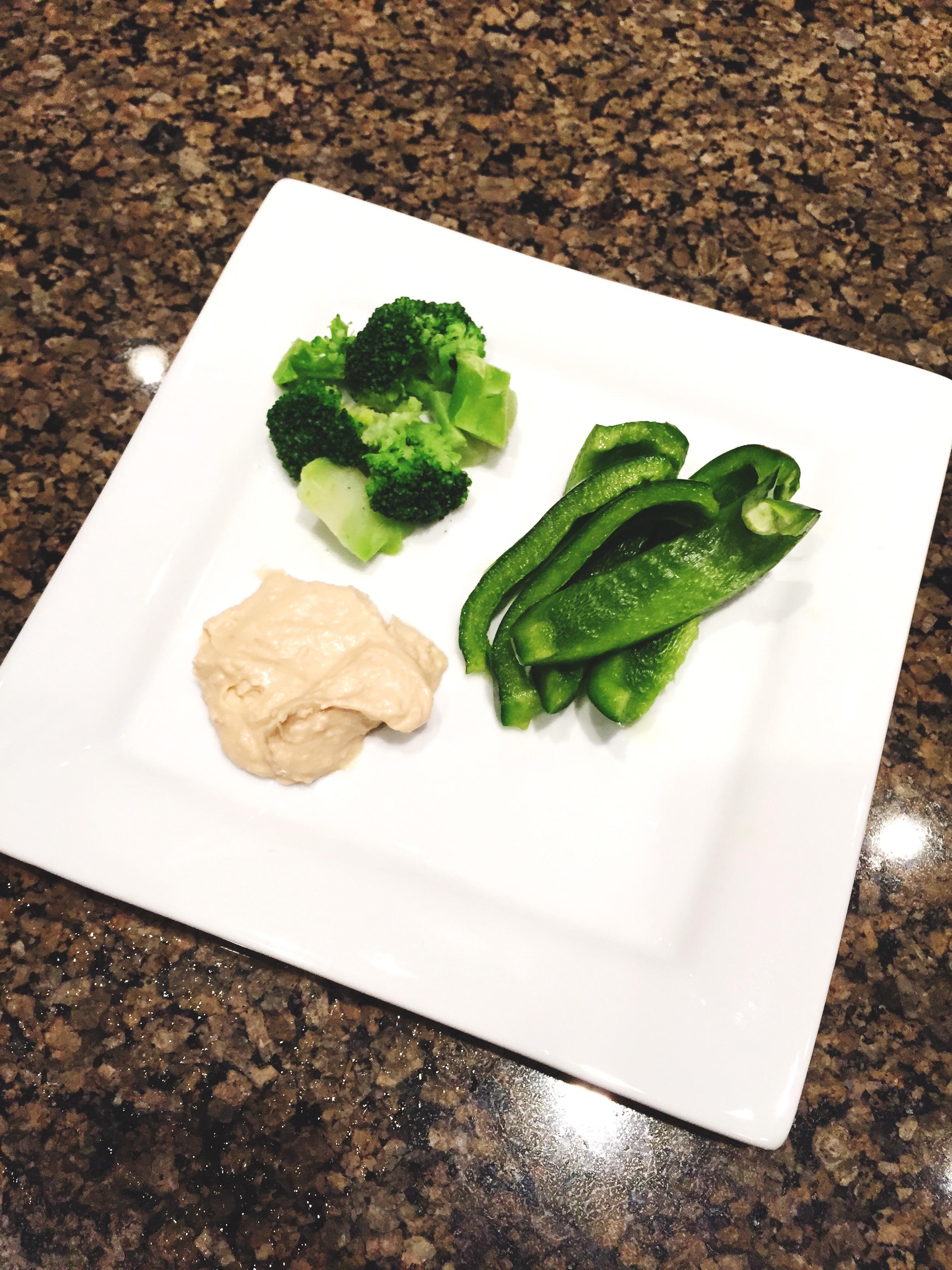 Broccoli and Hummus | Back To School Snacks | YES! Nutrition, LLC
