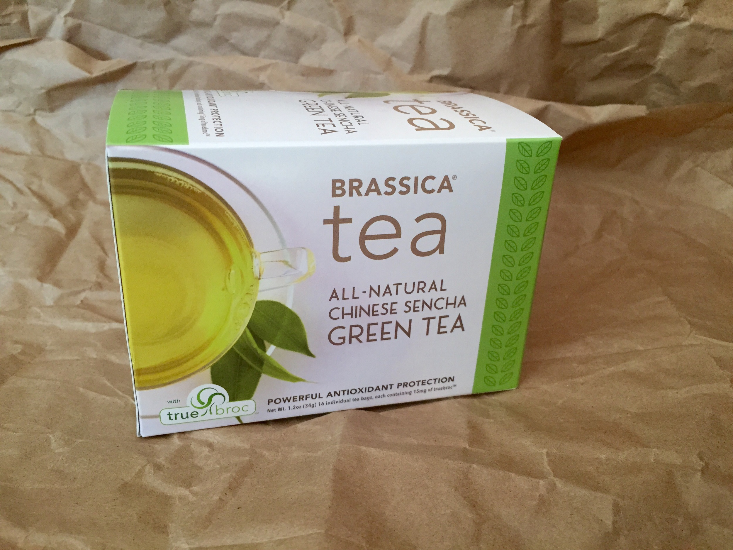 Brassica Green Tea with truebroc | 10 Healthy Travel Tips + Win a Box of BRASSICA TEA! | YES! Nutrition, LLC