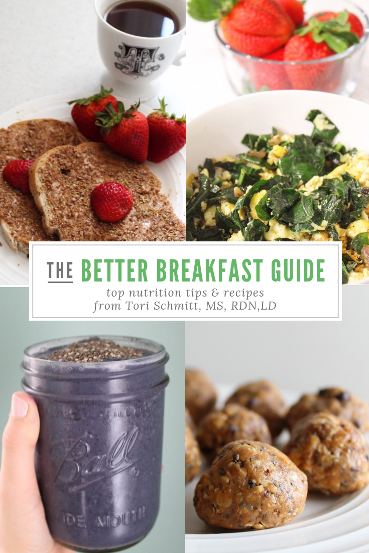 Better Breakfast Guide | Tips, Tools & Recipes to Enjoy a Healthy Breakfast