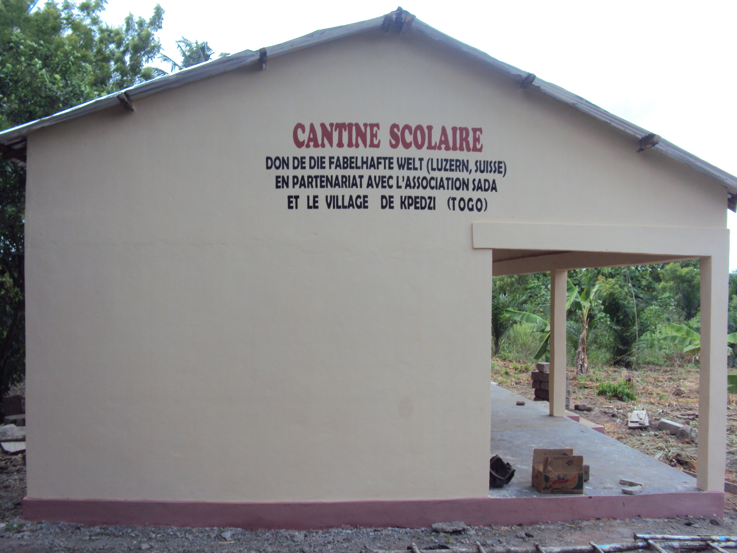 Construction cantine