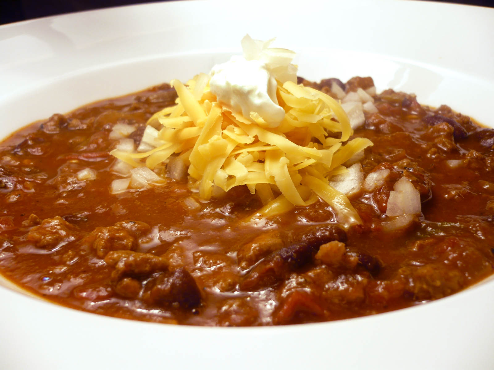 Dave's game-day chili