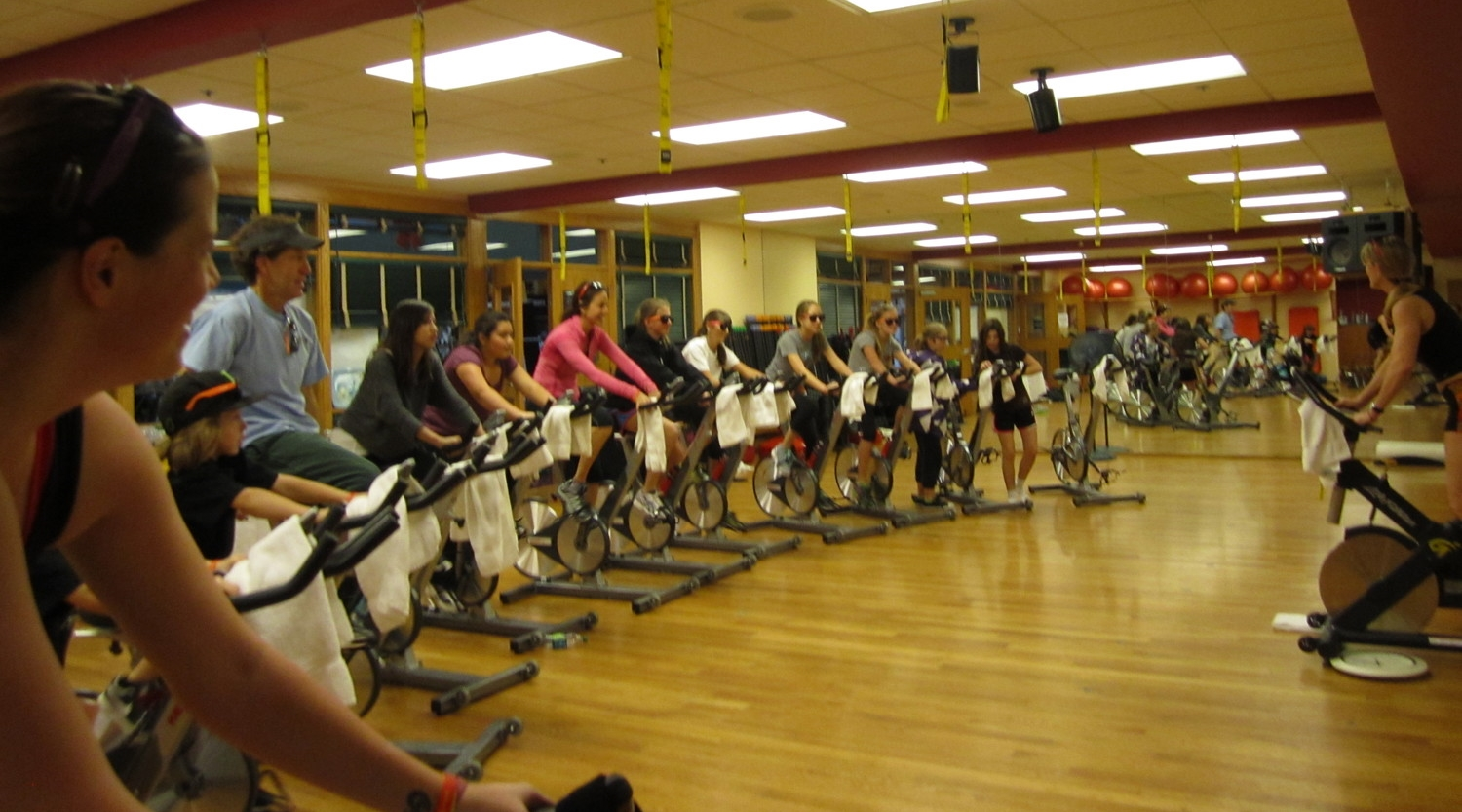 Bike-a-Thon Fundraiser, organized by local Aspen School District students.