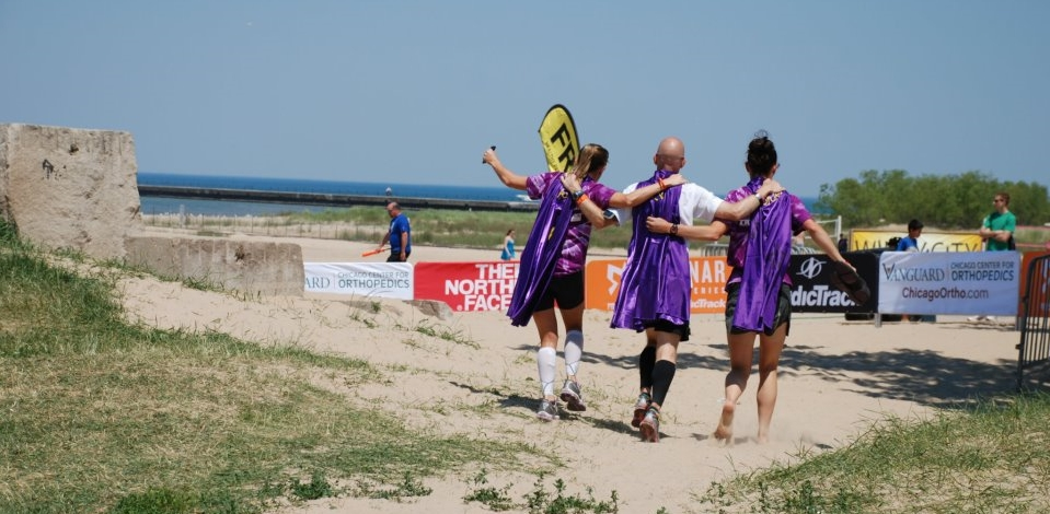 Supporters raised money for Shining Stars while completing the 200 mile Ragnar Relay.
