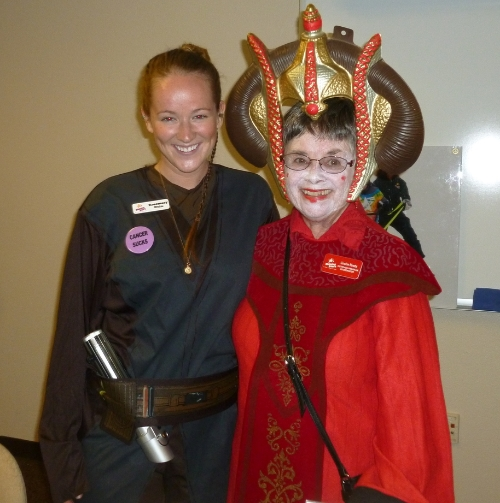 Anakin Skywalker and Queen Amidala!