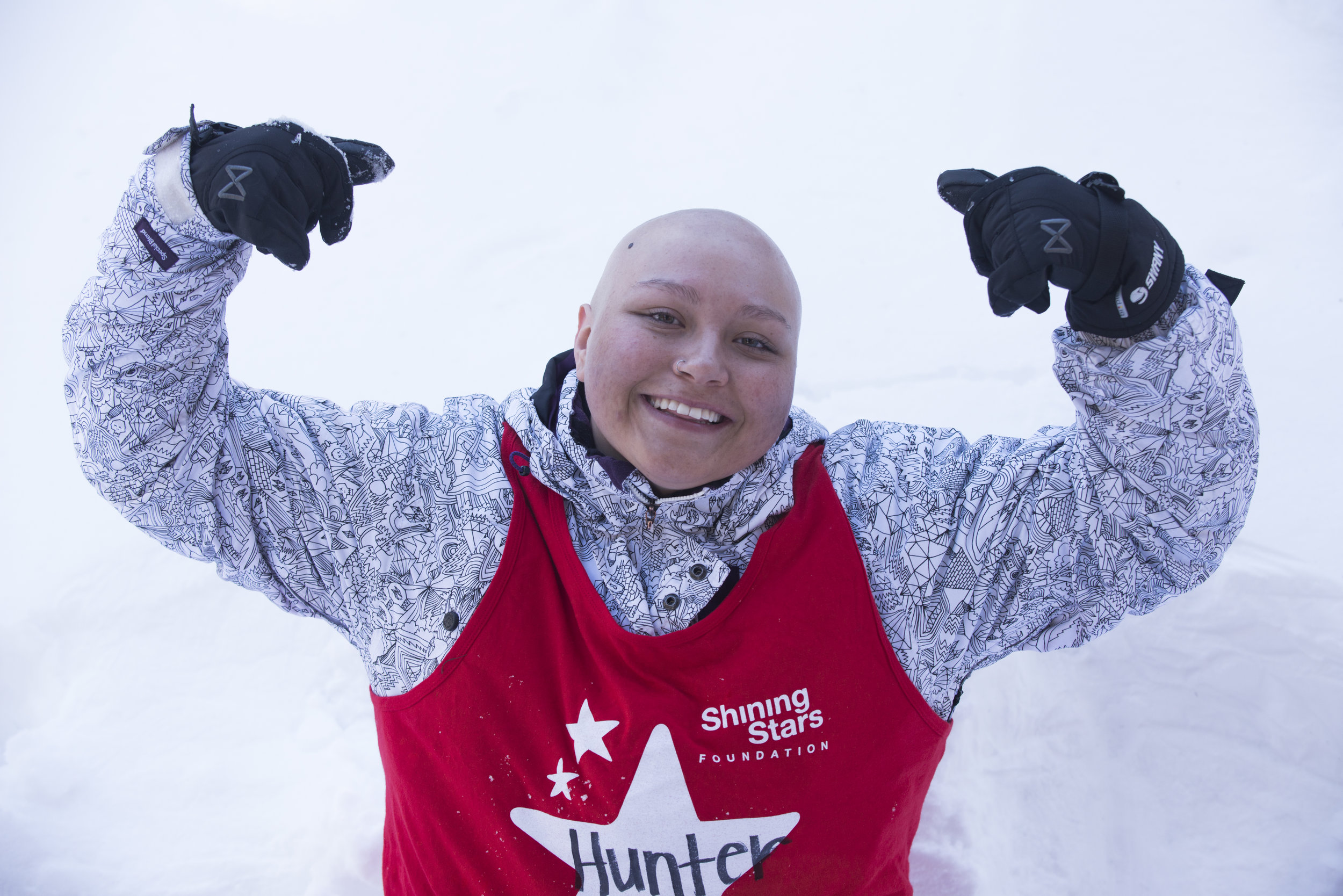 We loved meeting Hunter at this year's Aspen Winter Games program.