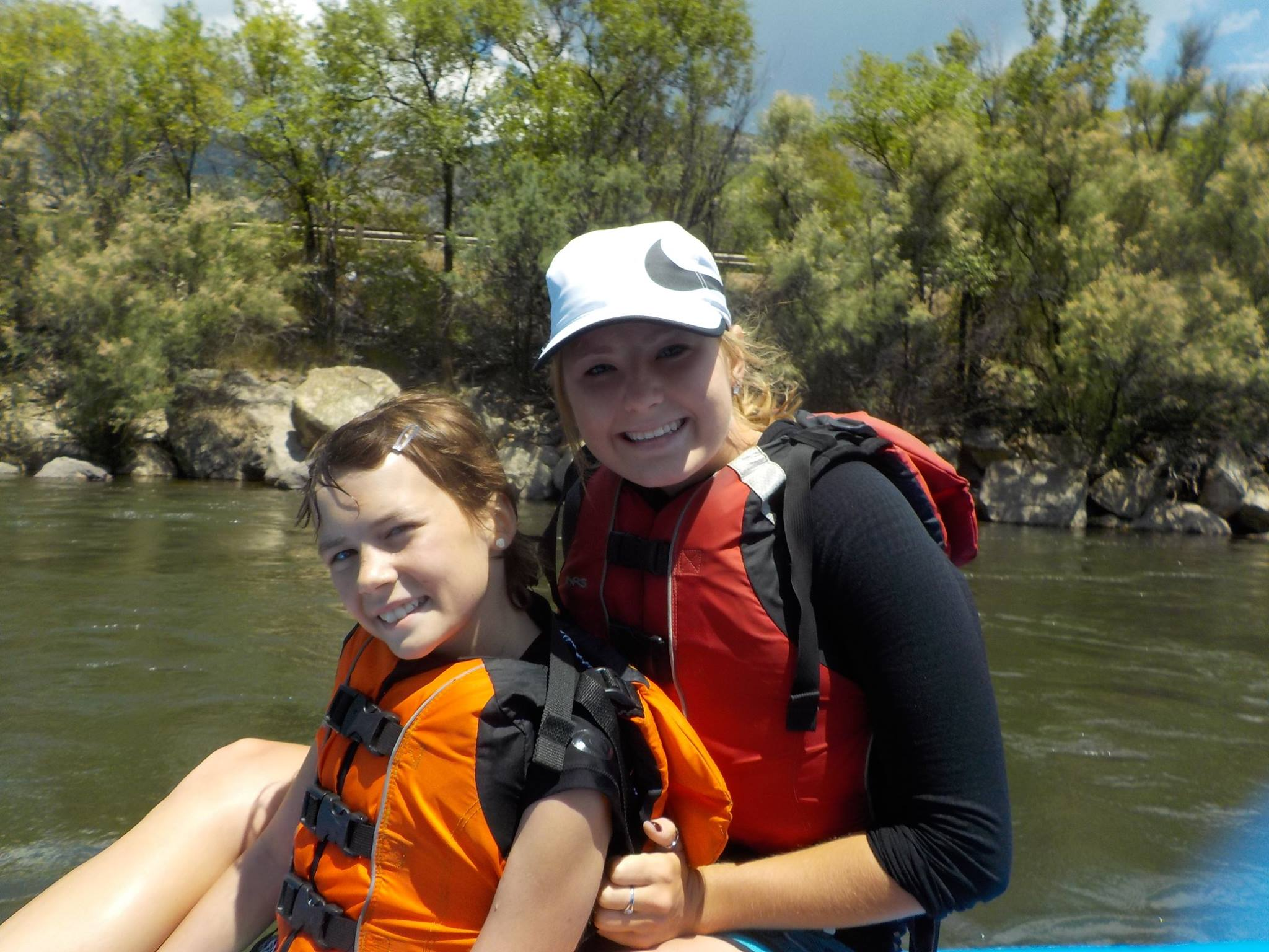Bennett's sister Emily joined us this past summer as a volunteer member of our medical team at our Aspen Summer Adventure Program!