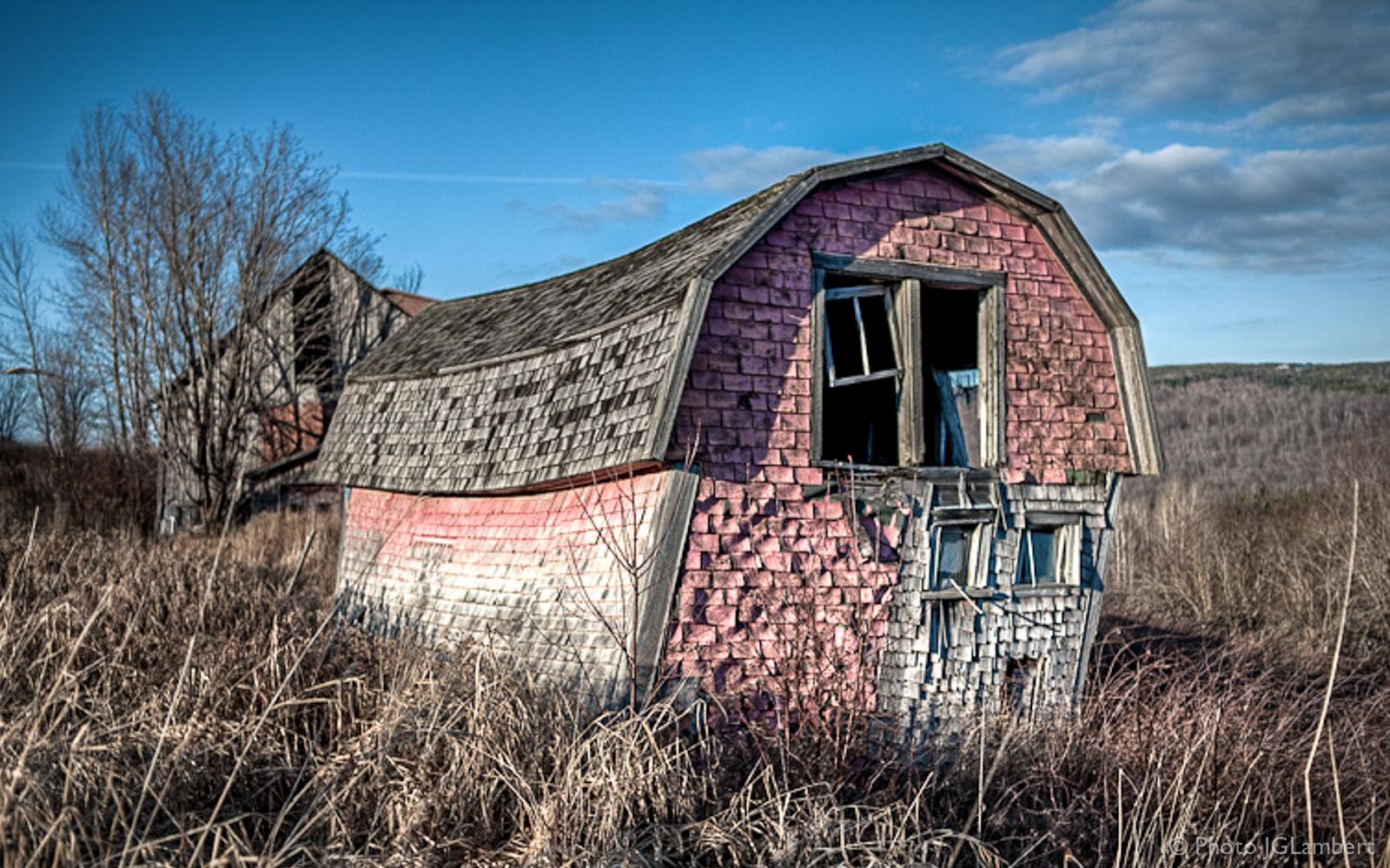 Fermette abandonnée, Québec