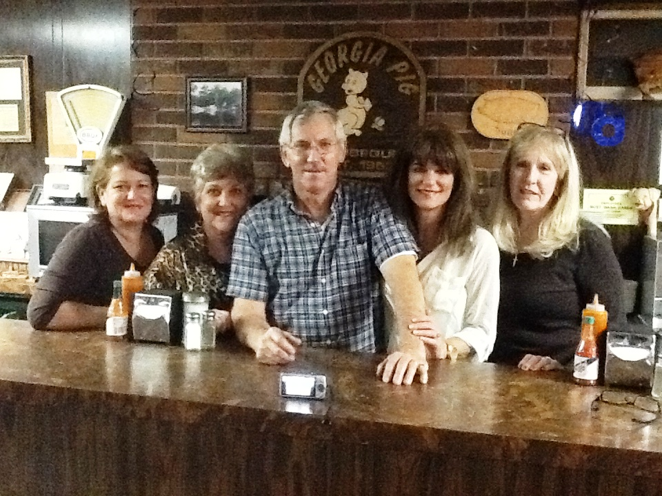 And us; Susan, Linda, Wayne, Jill & JoAnn. Thanks to Mom & Dad for beginning; to Wayne & JoAnn for continuing & to the support & love of my wonderful sisters. We are so Blessed! ps. not our best picture, but the only one I had!