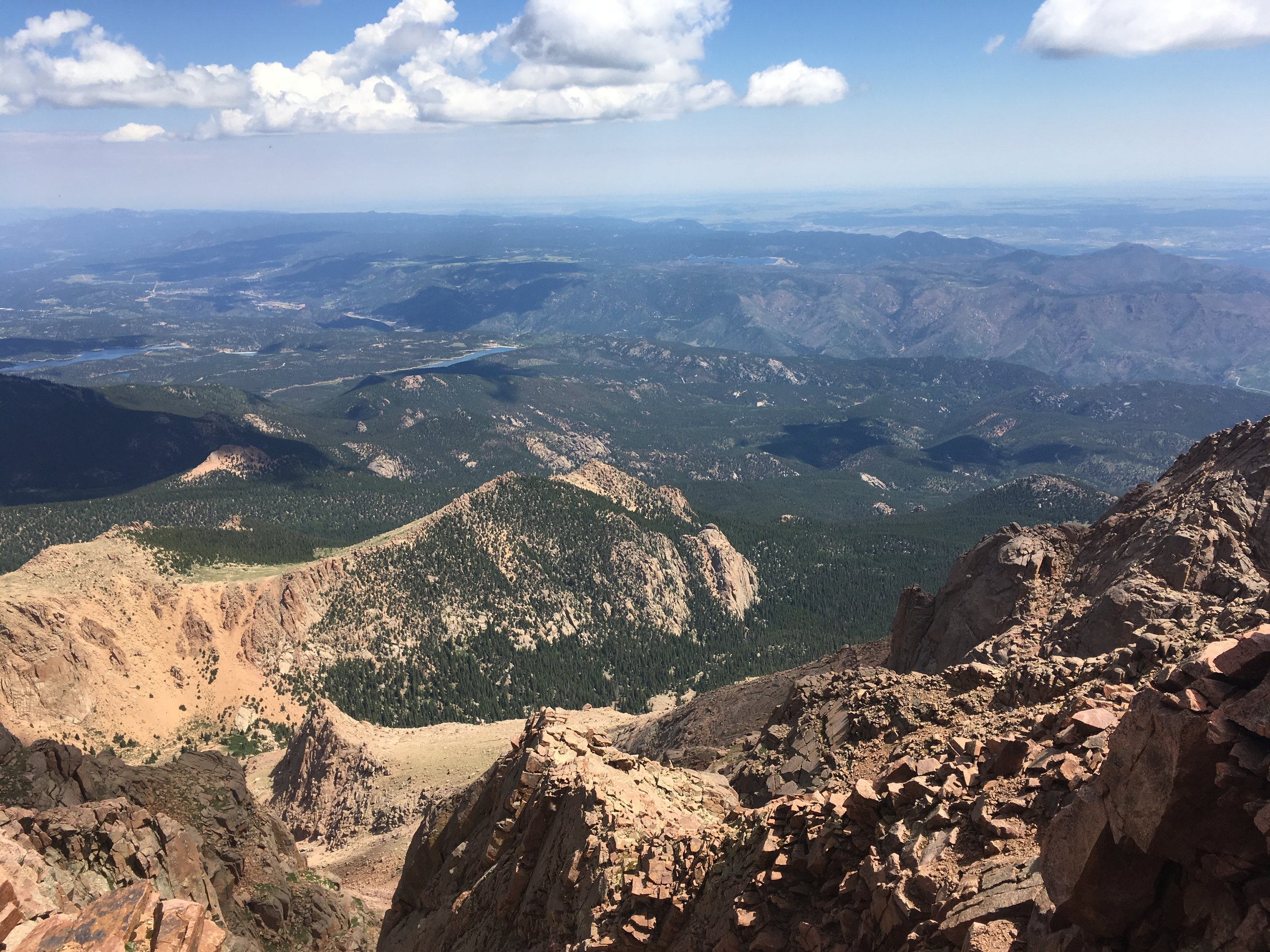 The view from my existential crisis: Pike's Peak.