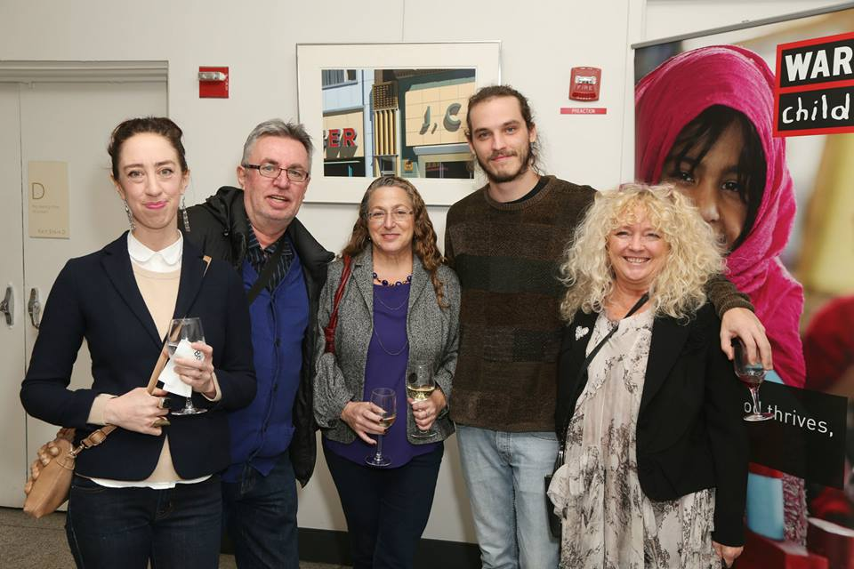 Angela Dee, Andy Robson, Sue Spiner, Matthew Gilmour, Ginger Gilmour ©Patrick McMullan==photo - J Grassi/PatrickMcMullan.com====  —