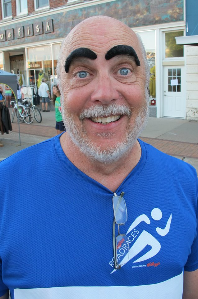 """Jeff misunderstands the rules of the Guinness """"Most People Wearing Fake Mustaches"""" challenge."""