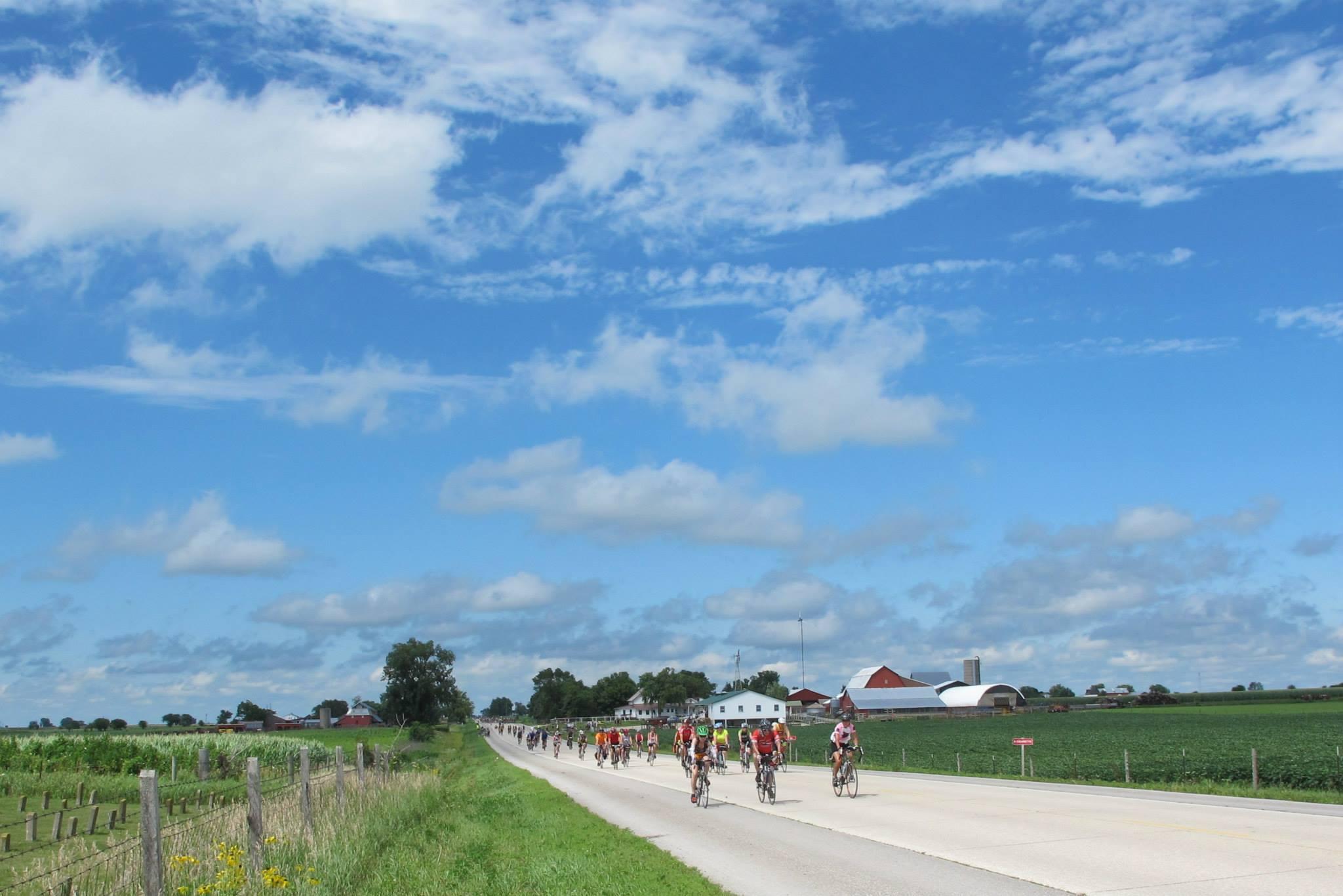 Fantastic days on the road under Iowa skies.
