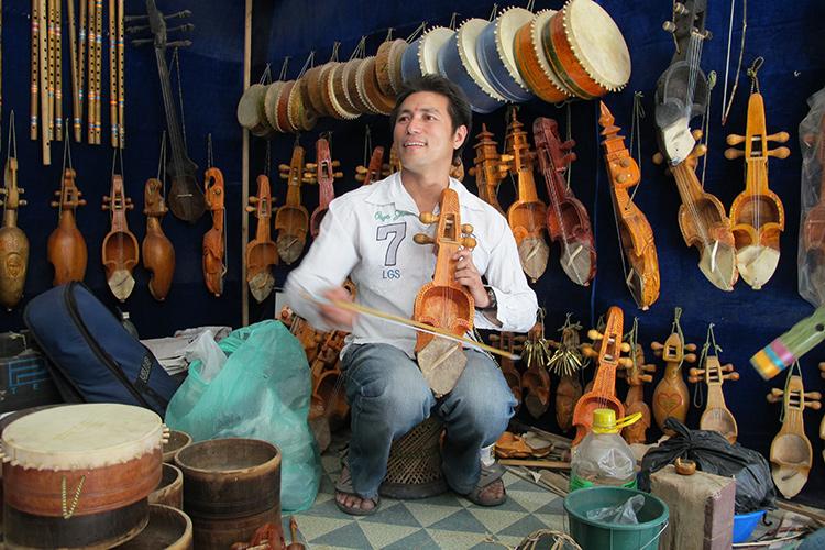 Musical instrument maker – Kathmandu